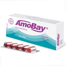Amobay Capsulas Amoxicilina Antibiotico Capsulas Bayer Antiinfecciosos