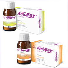 Amobay Amoxicilina Antibiotico Suspension Bayer Rx Antiinfecciosos