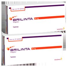 Brilinta Ticagrelor Eventos Tromboticos Tabletas Astrazeneca