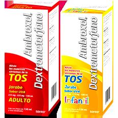 Ambroxol Dextrometorfano Tos Productiva Jarabe Hormona G Genericos